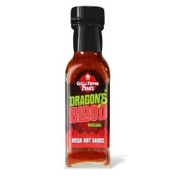 Dragon's Blood Original Mega Hot chili-szósz 125 ml