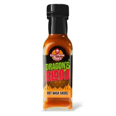 Dragon's Blood Hot Naga chili-szósz 125 ml