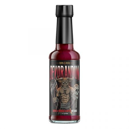 Burns&McCoy Devorandum Cherry & Trinidad Scorpion chili-szósz 148 ml