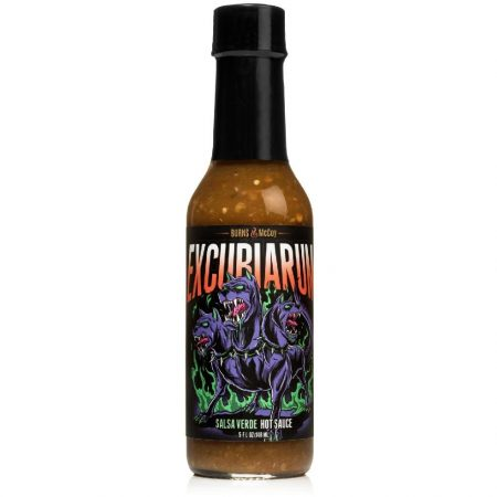 Burns&McCoy Excubiarum Verde chili-szósz 148 ml