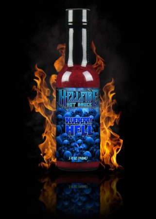Hellfire Hot Sauce Blueberry Hell chili-szósz 148 ml