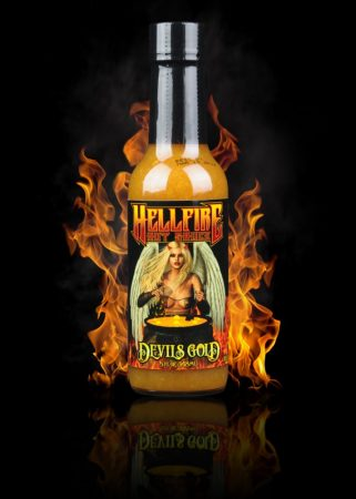 Hellfire Hot Sauce Devils Gold chili-szósz 148 ml