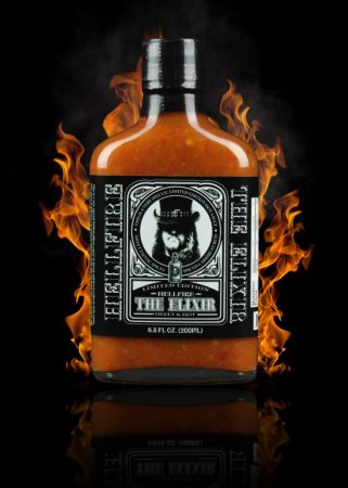 Hellfire Hot Sauce The Elixir chili-szósz 200 ml