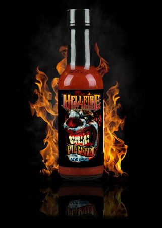 Hellfire Hot Sauce Evil Bastard! chili-szósz 148 ml