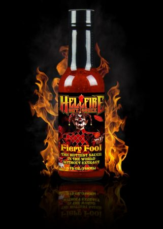 Hellfire Hot Sauce Fiery Fool chili-szósz 148 ml