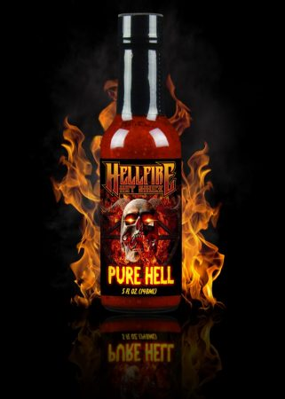 Hellfire Hot Sauce Pure Hell chili-szósz 148 ml