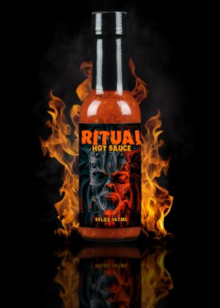Hellfire Hot Sauce Ritual chili-szósz 147 ml