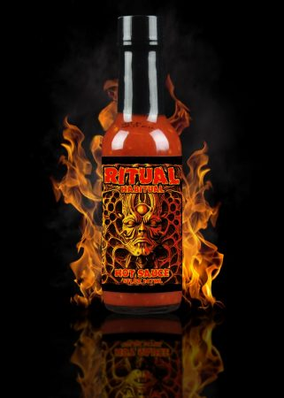 Hellfire Hot Sauce Ritual Habitual chili-szósz 147 ml