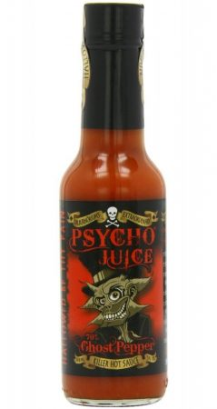 Psycho Juice 70% Ghost Pepper chili-szósz 148 ml