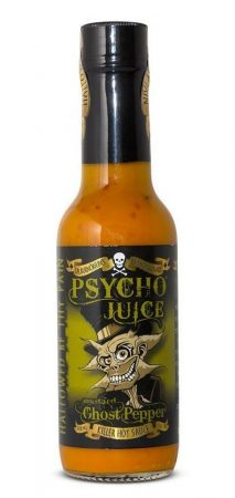 Psycho Juice Mustard Ghost Pepper chili-szósz 148 ml